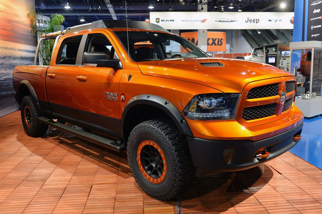 Ram Shows Its Trucks Are For Work And Play