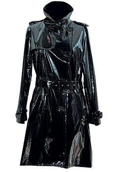 Тренч из лаковой кожи,Lilith«Траффик», 19 200 руб.