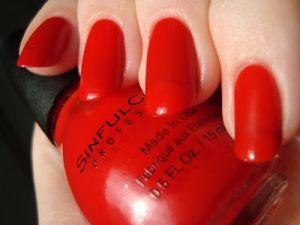 Cross My Heart is bright cinnamon red jelly. by Janny Dangerous