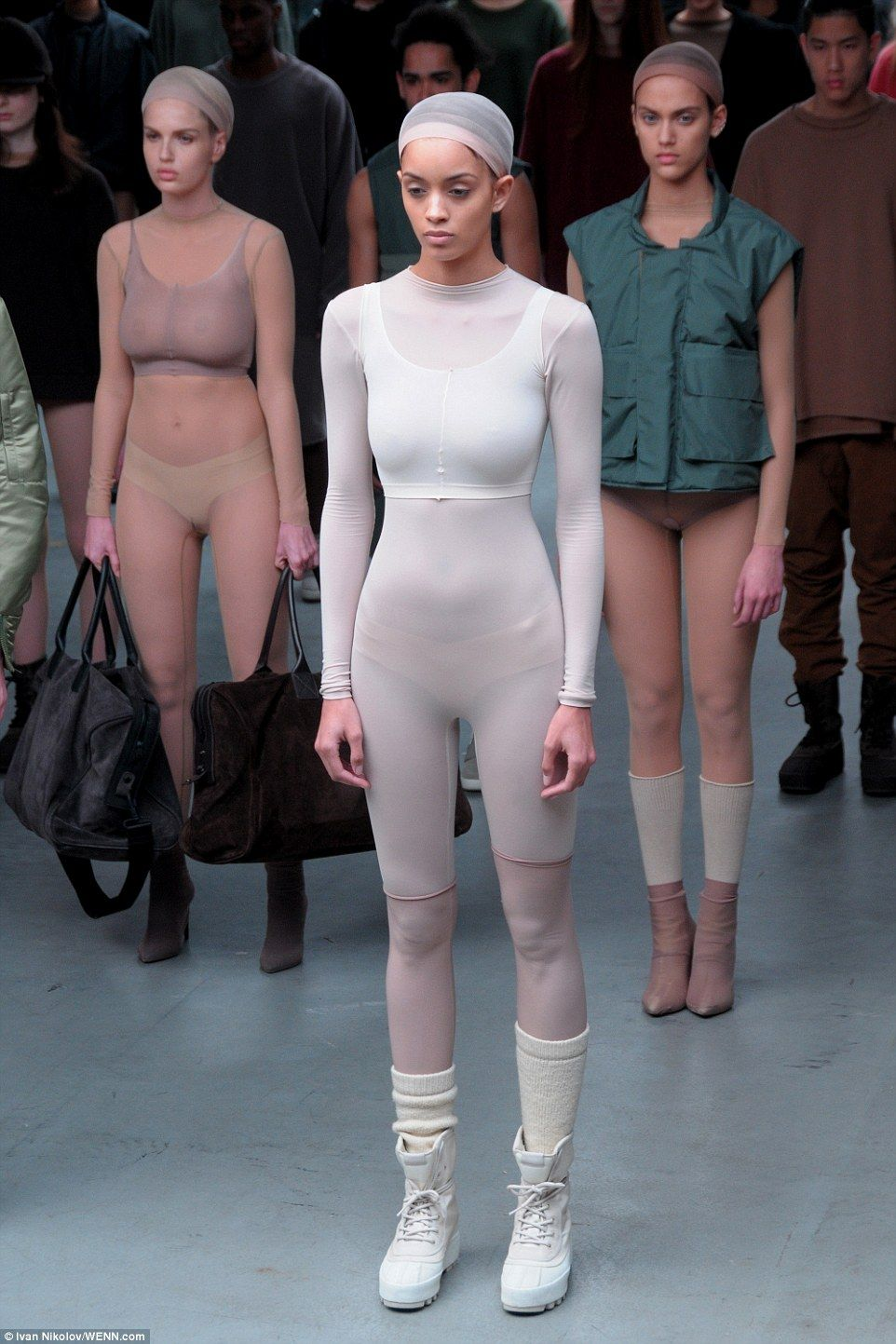Critics Respond To Kanye West S New Fashion Line With Adidas Dystopian Fashion Fashion Womens Wear Daily