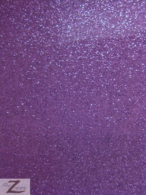 Vinyl Faux Fake Leather Sparkle Glitter Fabric / Purple / Sold By The Yard