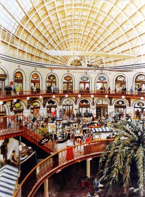 Pete Lapish Interior View Of The Corn Exchange Leeds