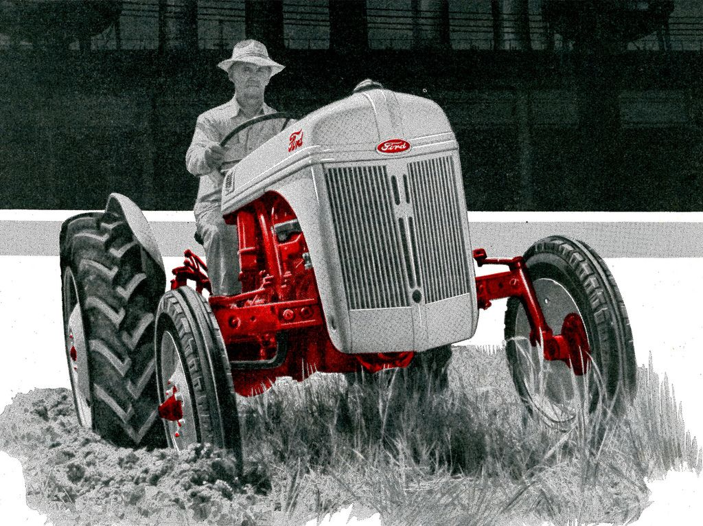 1952 Ford Tractor Ford Tractors Old Tractors Vintage Tractors