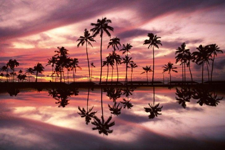 Hawaii Ala Moana Beach Park Honolulu Oahu