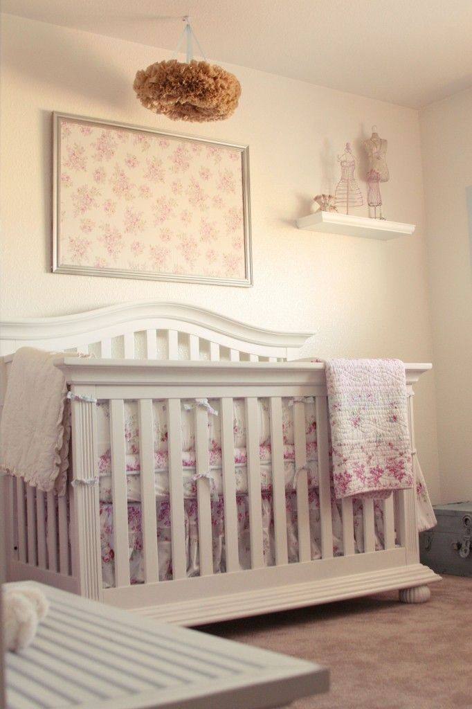 Shabby Chic Vintage Nursery With Images Shabby Chic Nursery Shabby Chic Baby Nursery Shabby Chic Baby