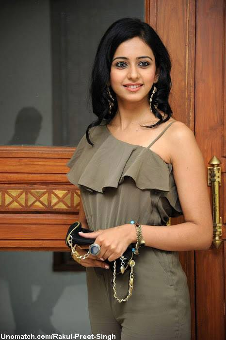 Rakul Preet Singh (born 10 October 1990)[2][3] is an Indian film actress and model. After modeling and participating at the Femina Miss India contest in 2011, she began an acting career. She is known for her works predominantly in Telugu cinema and Bollywood. like : http://www.Unomatch.com/Rakul-Preet-Singh/