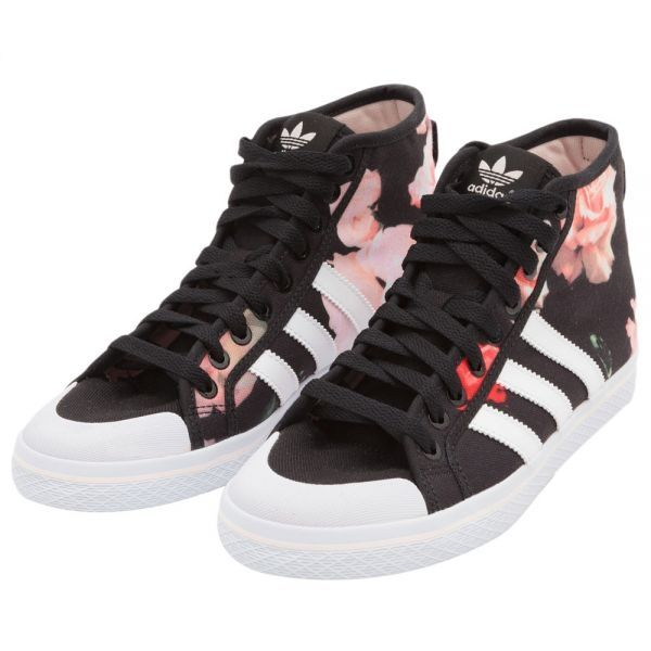 Adidas Honey Stripes Floral Mid Shoes Black..another pair ..love em