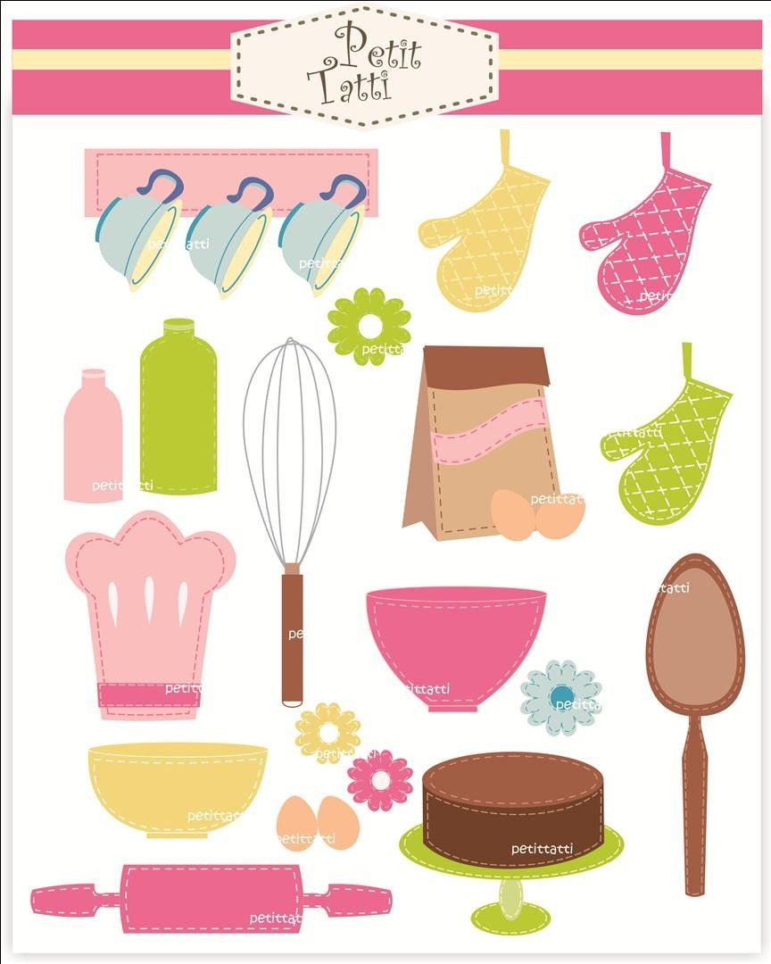 Digital Clip Art For All Use, Cooking Class. $4.80, Via
