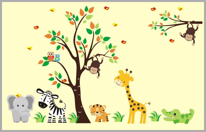 Nursery Room Decorations - Nursery Wall Decal - Nursery Design ...