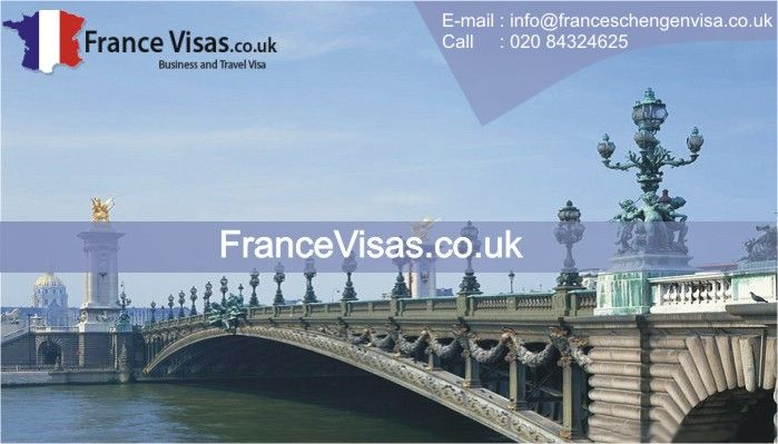 We specialize in the France Visa application  We do provide