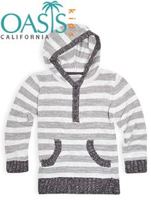 Are you looking for wholesale bunny grey and white striped hoodie suppliers? Oasis Kids Clothing is one of the top bunny grey and white striped hoodie manufacturing company in USA & UK.