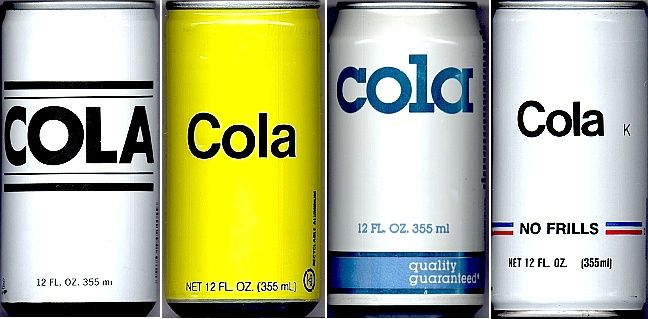 Photo Of Generic Cola Cans From Wikipedia Generic Canning Cola