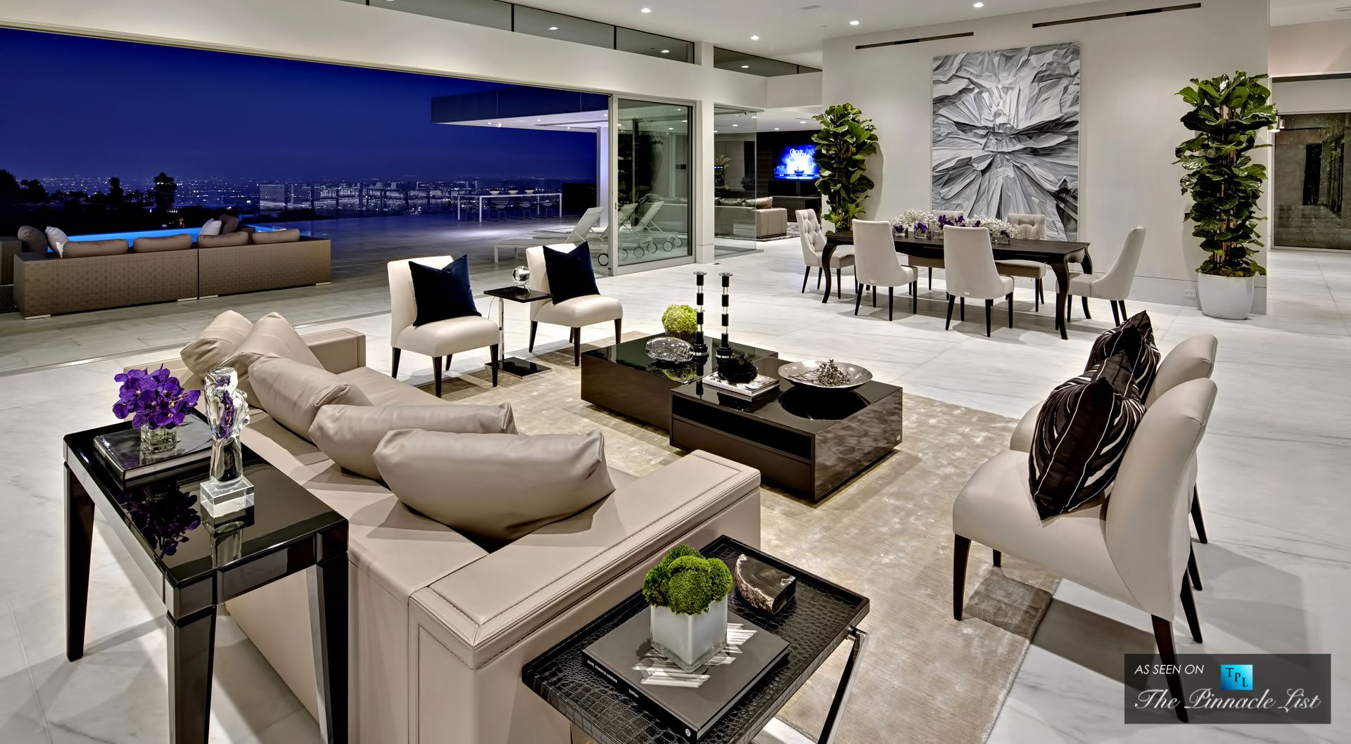 Interior Designers Beverly Hills 1620 Carla Ridge Beverly Hills Ca By Mcclean Design  Minimal