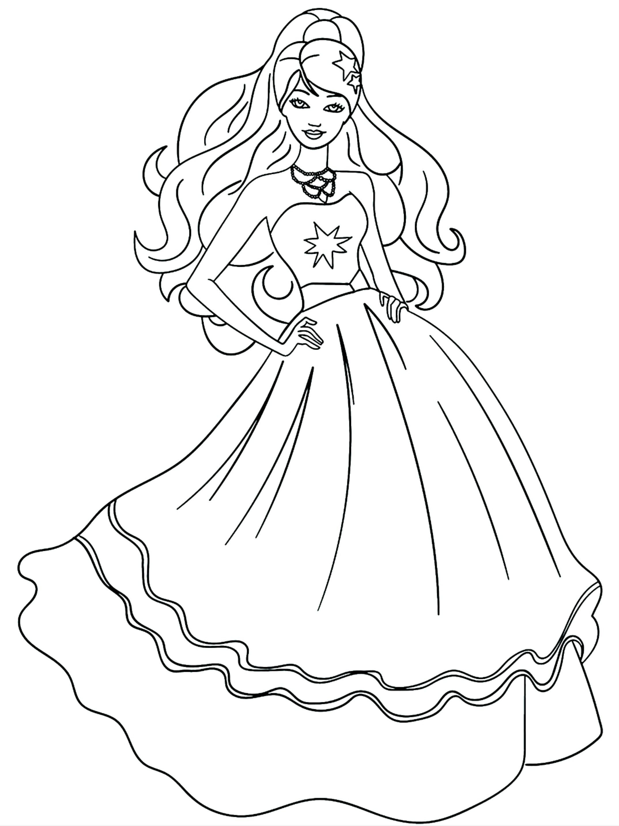 Barbie Princess Coloring Pages For Kids Princess Coloring Pages For Kids Princess Coloring Pages Princess Coloring