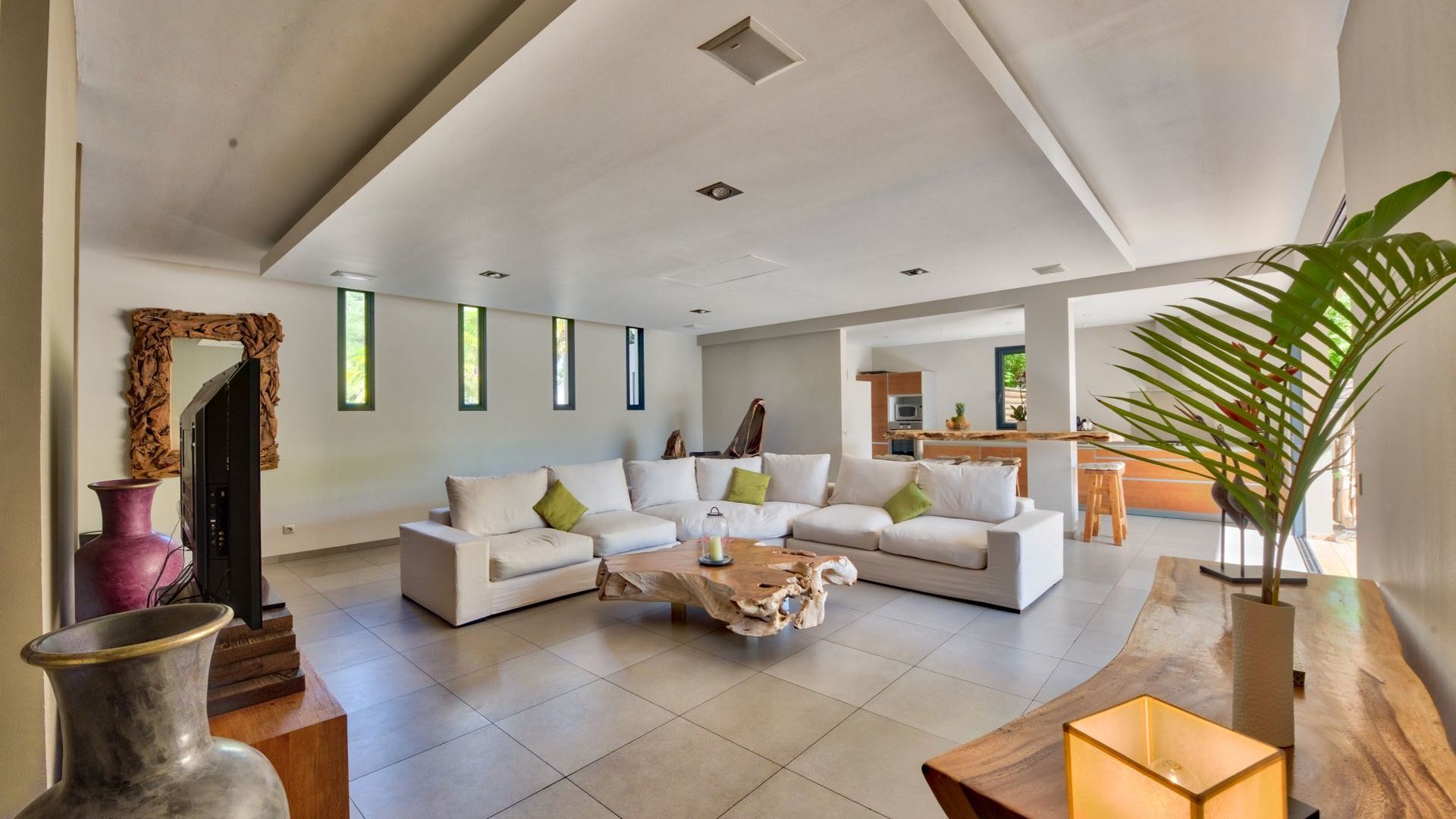 A picture of beauty and serenity, the VILLA K nestled in