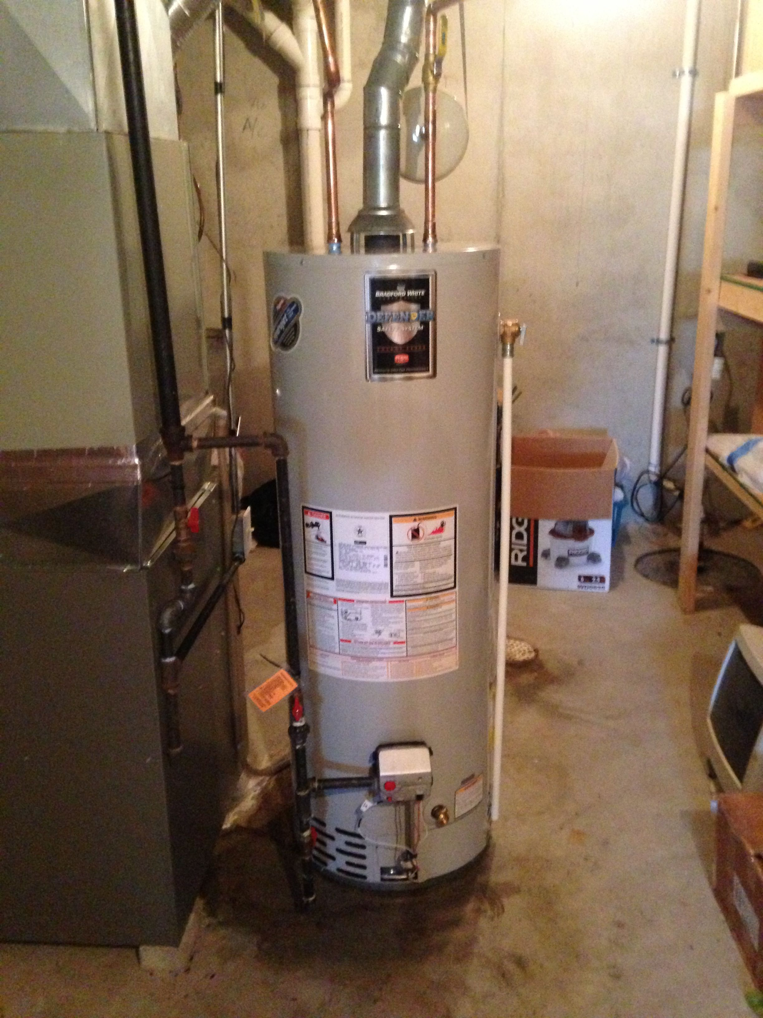 Water Heater Installation In Olathe Ks 66062 With New Valves And Expansion Tank Water Heater Installation Water Heater Installation