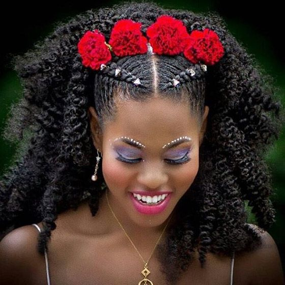 cute and chic cornrow braids