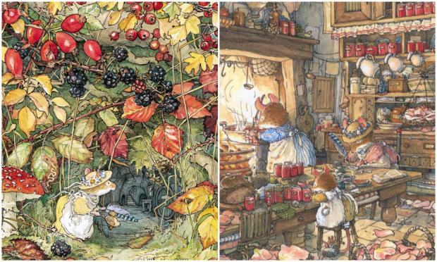 'Autumn Story' by author and illustrator Jill Barklem