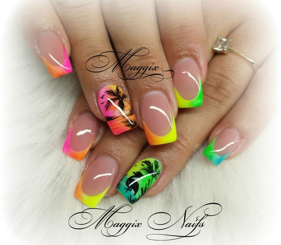 Road triiiiiip!!!!! Whos coming with me? | Cool nail