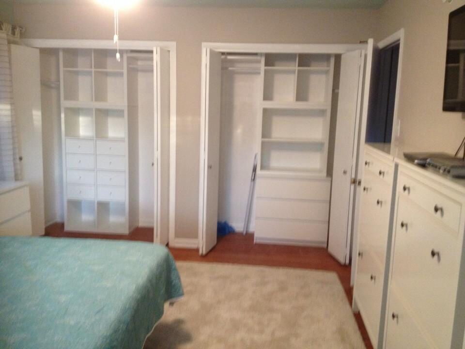 Closet Ikea Malm Dresser Ikea Kallax Shelving The One