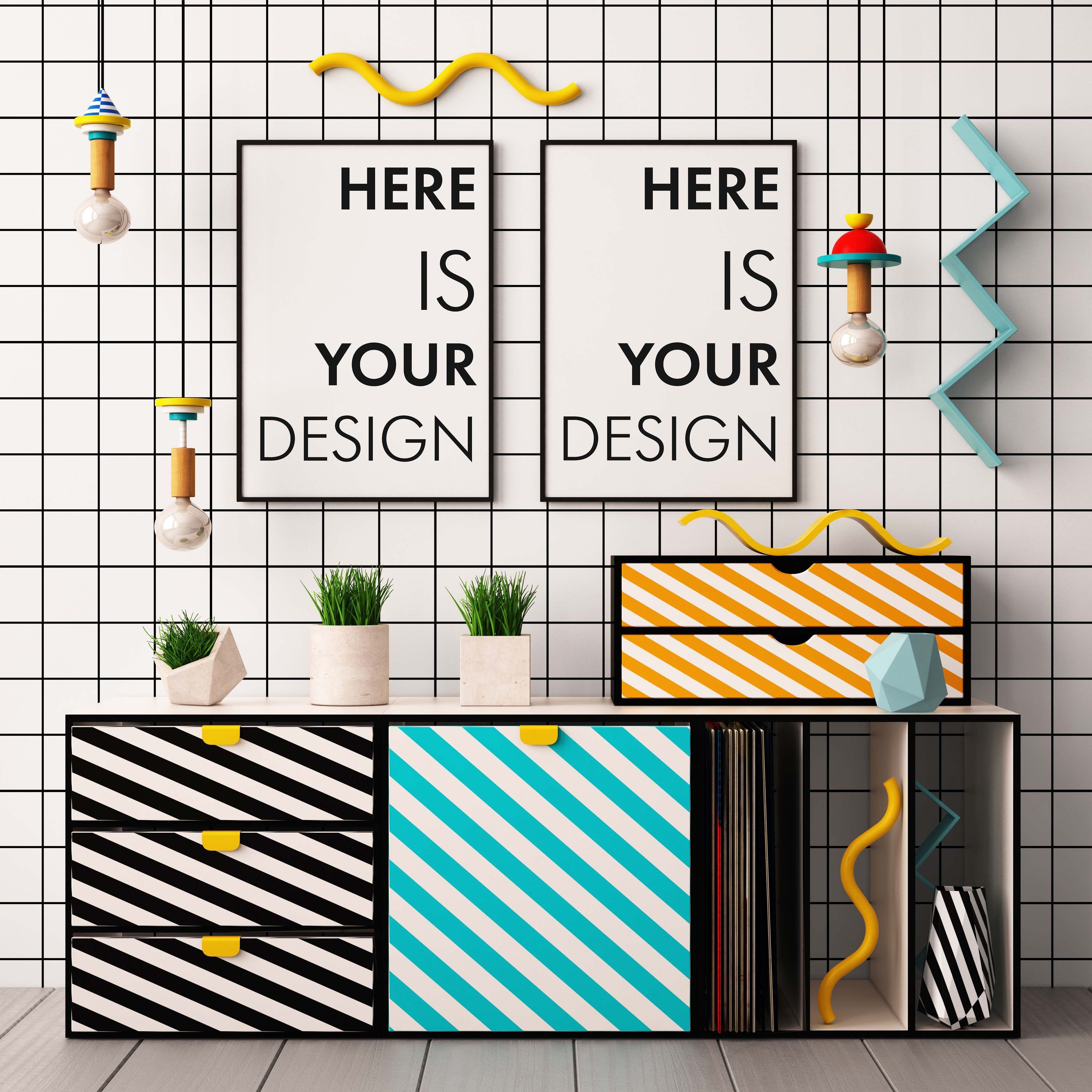 What is happy design? The new summer 2018 Trend #memphisdesign