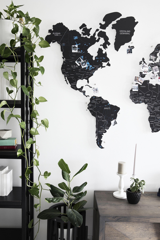 Personalized Push Pin Map World Map Of The World World Etsy In 2020 World Map Wall Decor Map Wall Decor World Map Wall Art