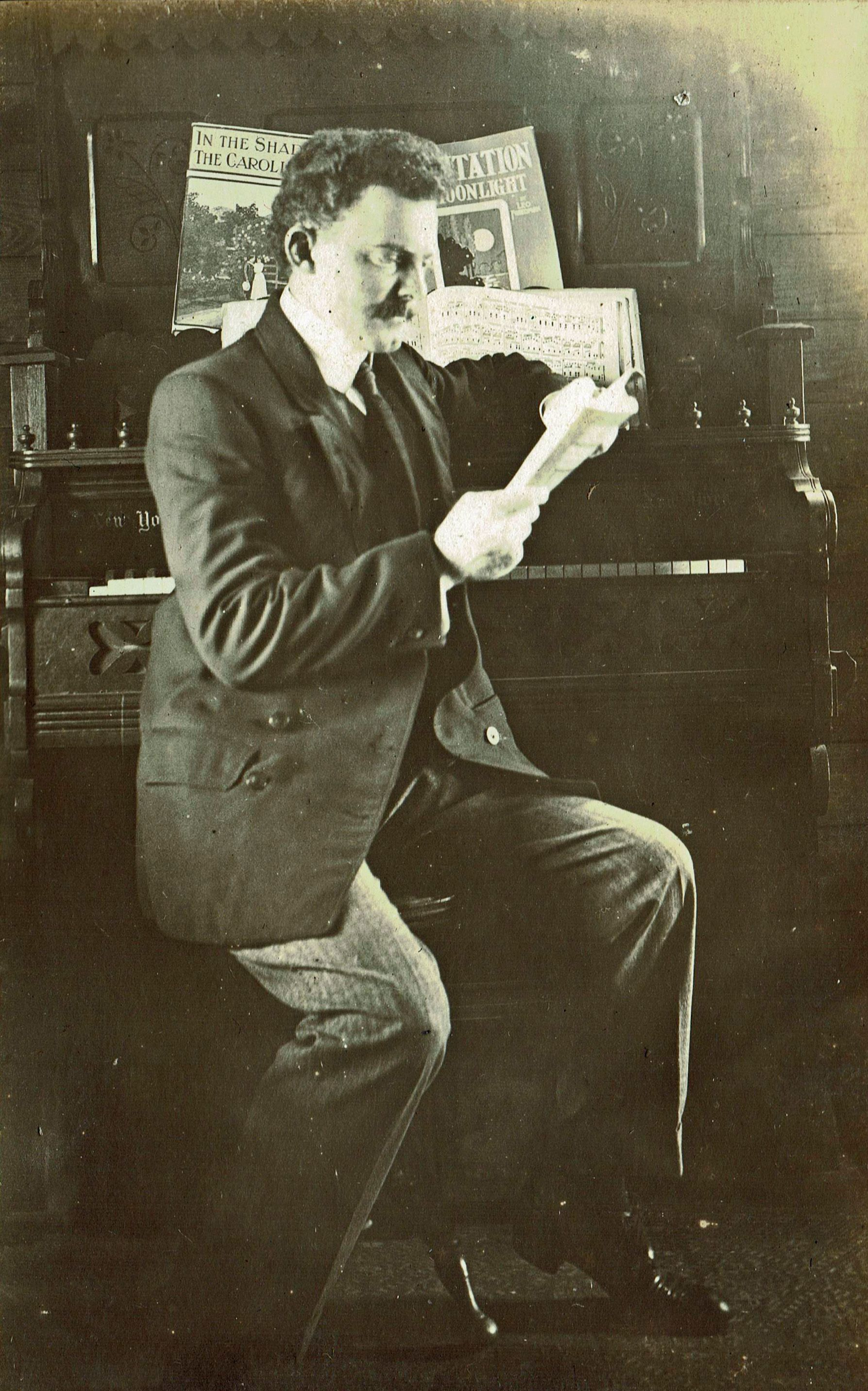 """""""Dr. Bill"""" William Yancey McKenzie son of Elvira McKenzie"""