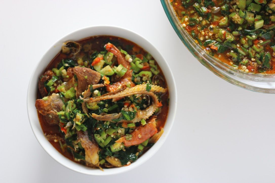 Okro soup with vegetables video recipe nigerian food nigerian okro soup with vegetables video recipe nigerian food forumfinder Gallery