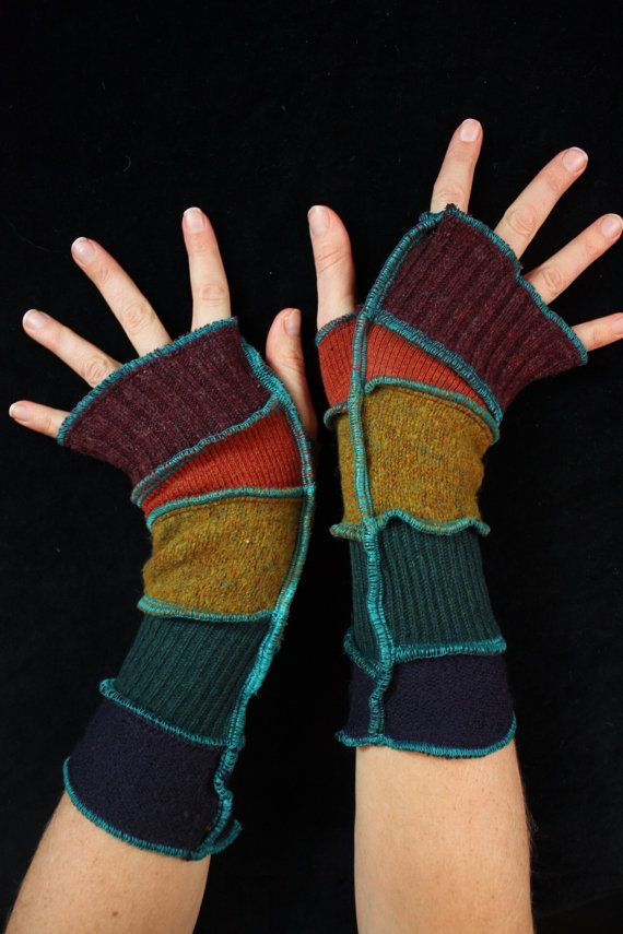 Arm Warmers - made from upcycled sweaters