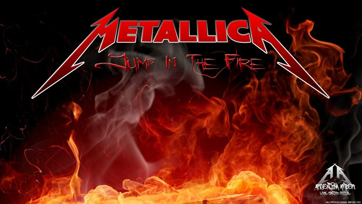 Jump In The Fire Metallica Wallpaper (With images) Μουσική