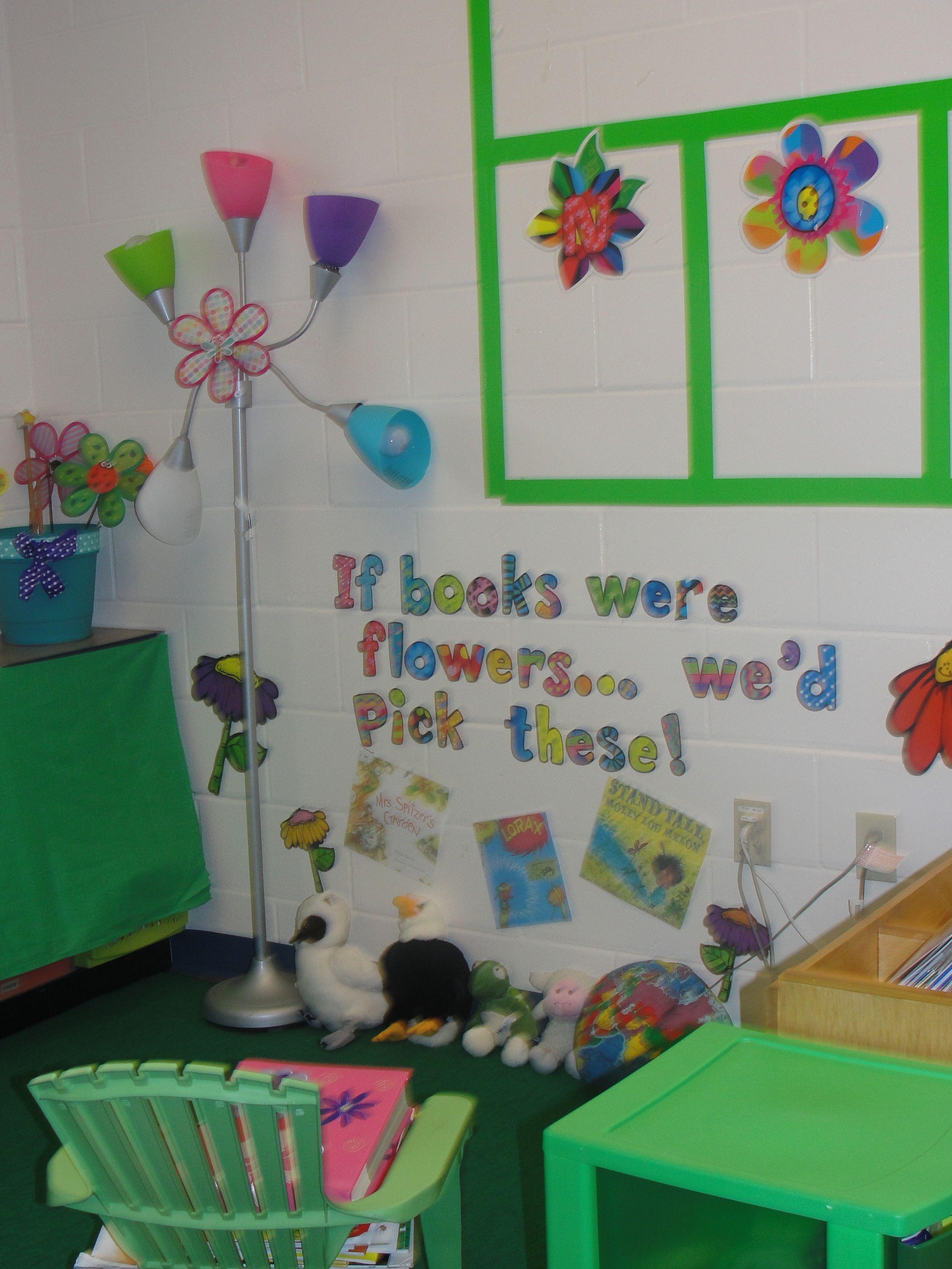 Garden Theme Classroom www.mrsstolpmansclass.blogspot.com