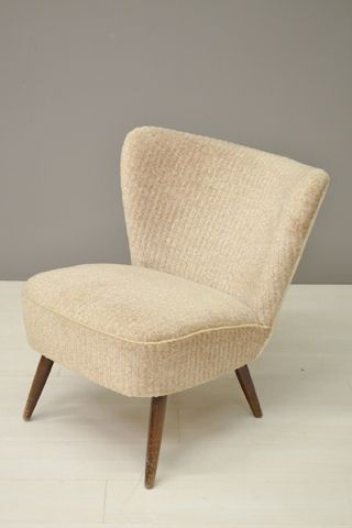Cocktail stoel beige/ Cocktail chair beige 21635