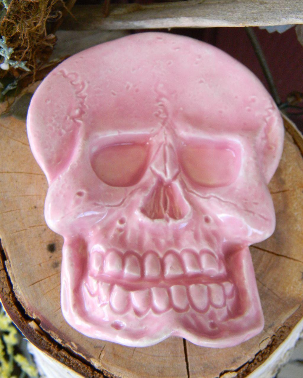 Skull Tea Bag Holder Ring Dish Jewelry Ring bearer wedding day dead ...