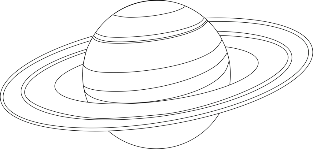 Coloring Rocks Planet Coloring Pages Saturn Planet Solar System Coloring Pages