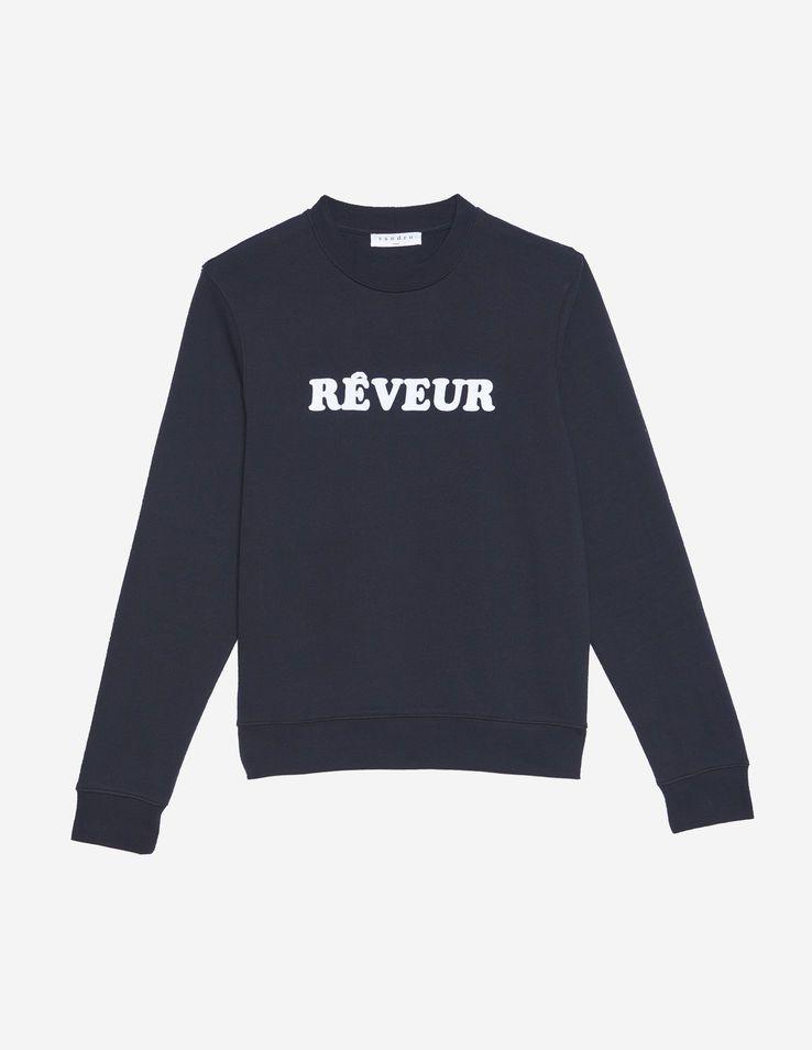 bd65d8423a Reveur Flocked Sweatshirt - Sweaters - Sandro Paris