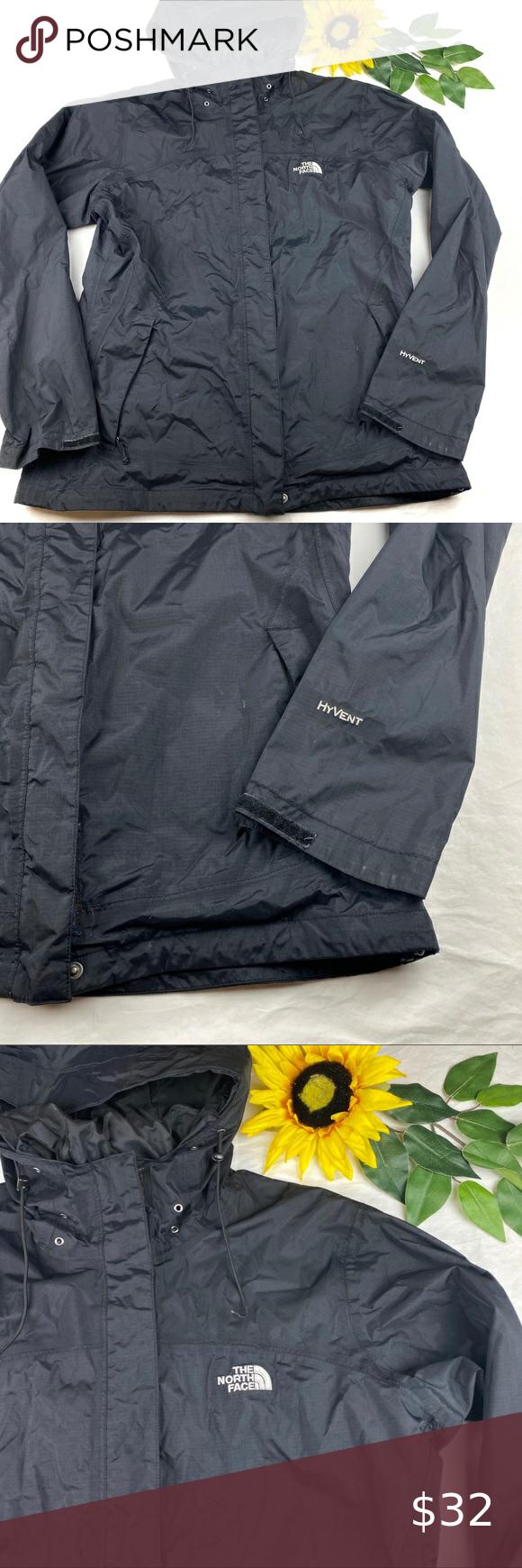 North Face Jacket Hoodie Black Hyvent Zip Front North Face Jacket North Face Jacket Womens Black Hoodie [ 1740 x 580 Pixel ]