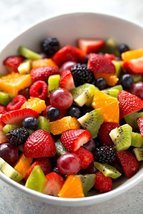 How to Make Fruit Salad - Life Made Simple Bakes