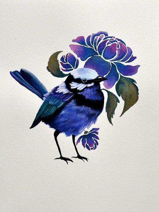 The Blue Wren .