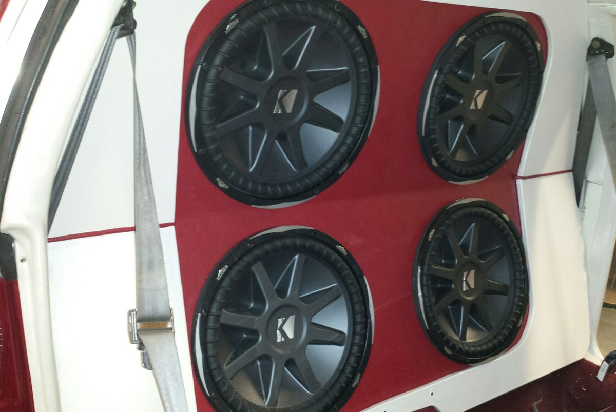 We offer sales, service, & installation of car audio