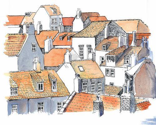 Robin Hoods bay Rooftops | Flickr - Photo Sharing!