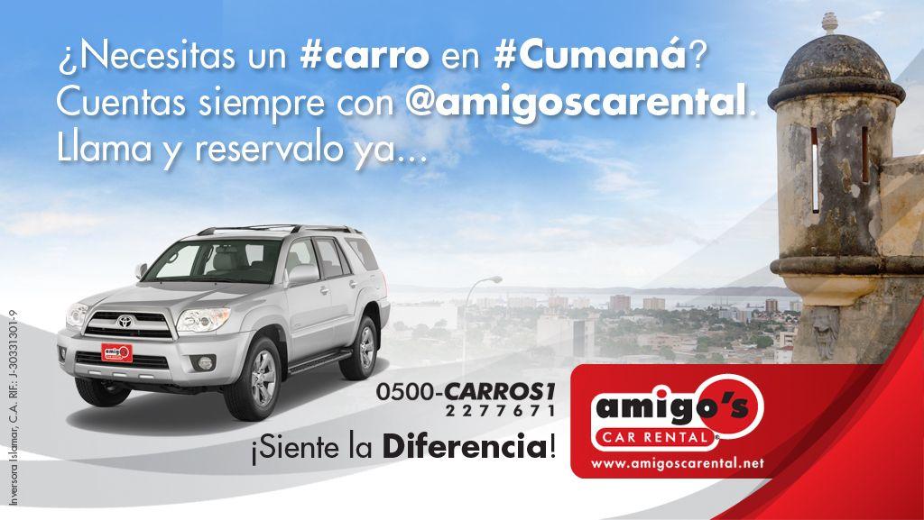 ¿Necesitas un #carro en #Cumaná? Llámanos 0500 2277671