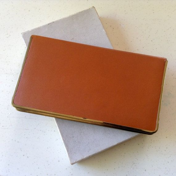 c12ff873 Cigarette Case. Genuine Coach Hide. Stamped Polo Measures 6inches by ...