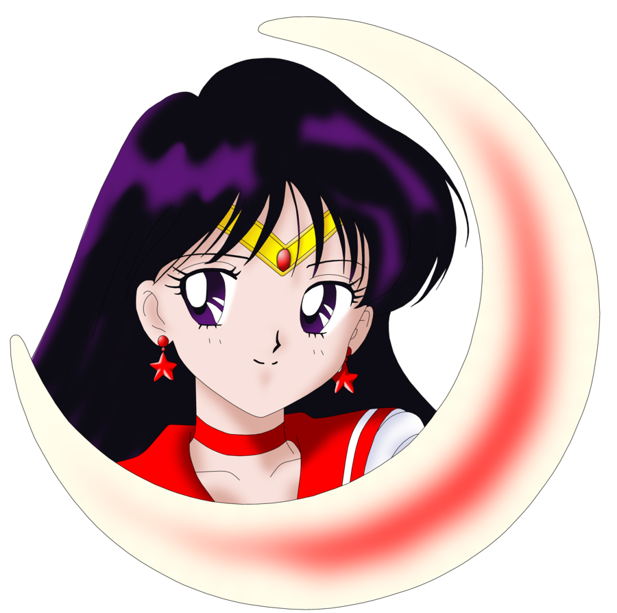 Sailor Mars Crescent Head by on
