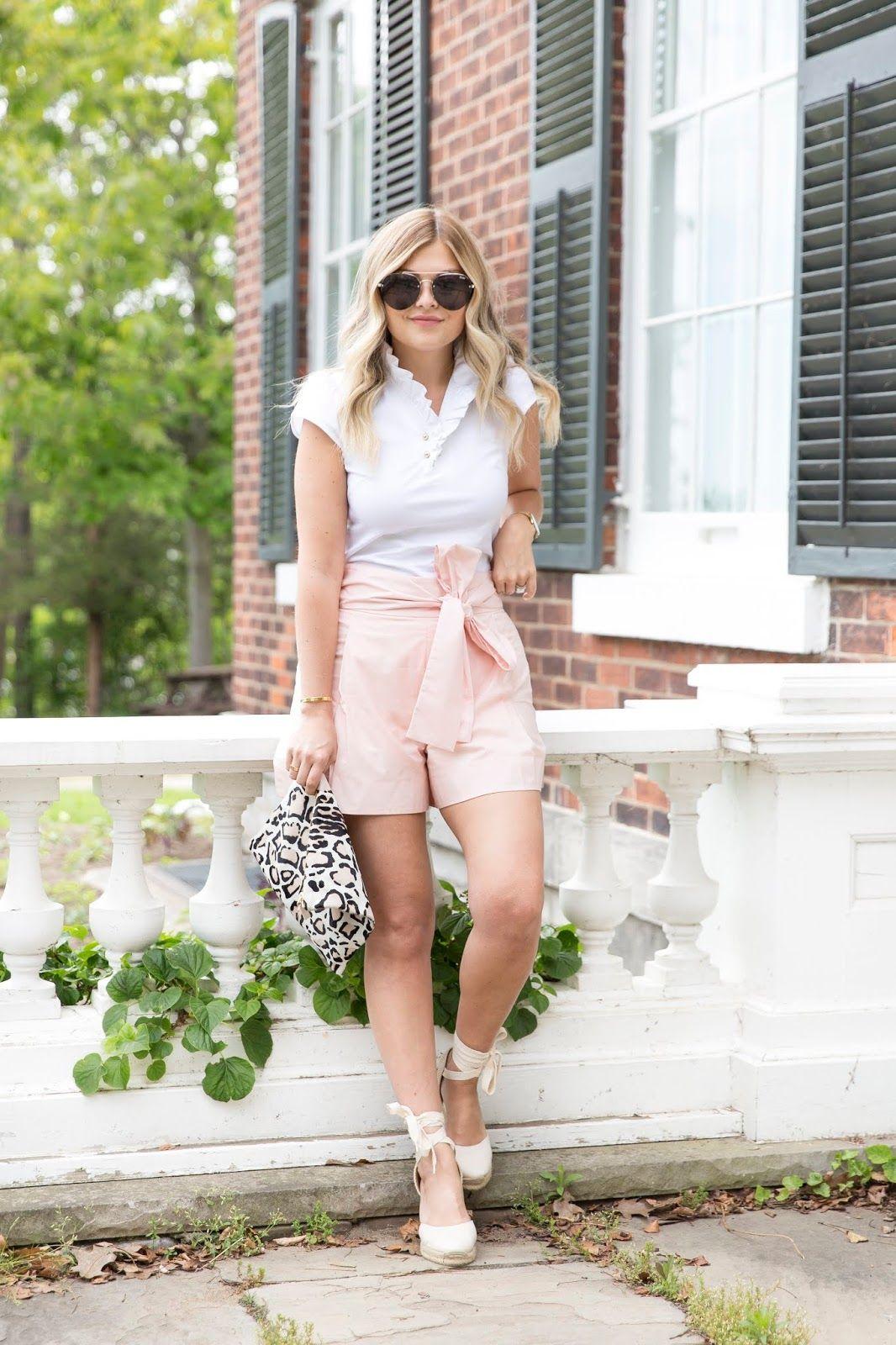 ed230ab01d78 Pink Bow Shorts ~ Suburban Faux-Pas