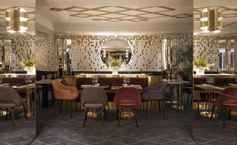 Yeeels Paris France  Wallpaper Magazine Restaurant Interior Simple Restaurant Dining Room Chairs Design Ideas