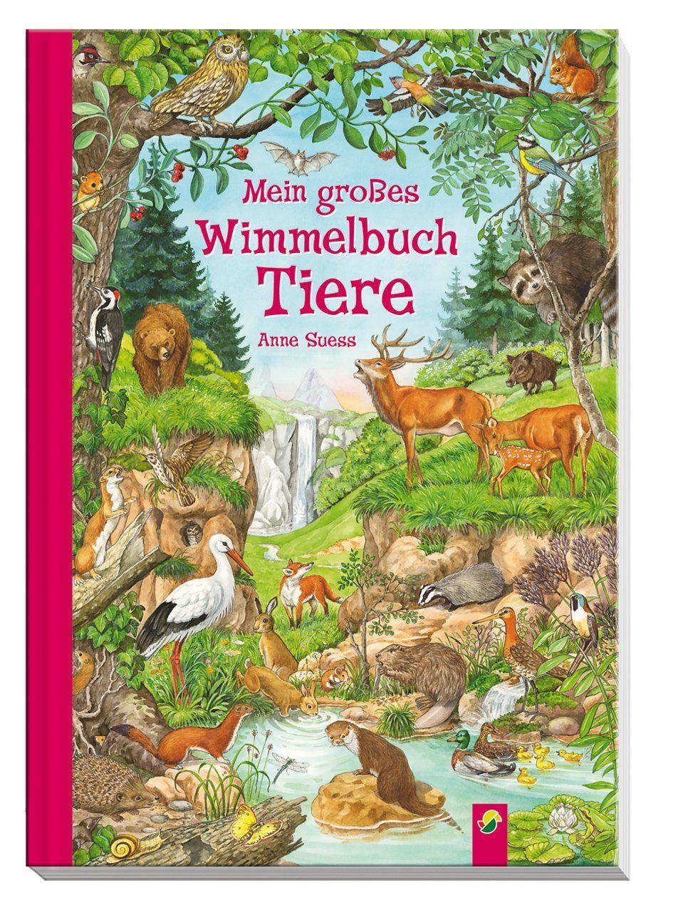 Mein Gro�es Wimmelbuch Tiere: Amazon: Anne Suess: B�cher