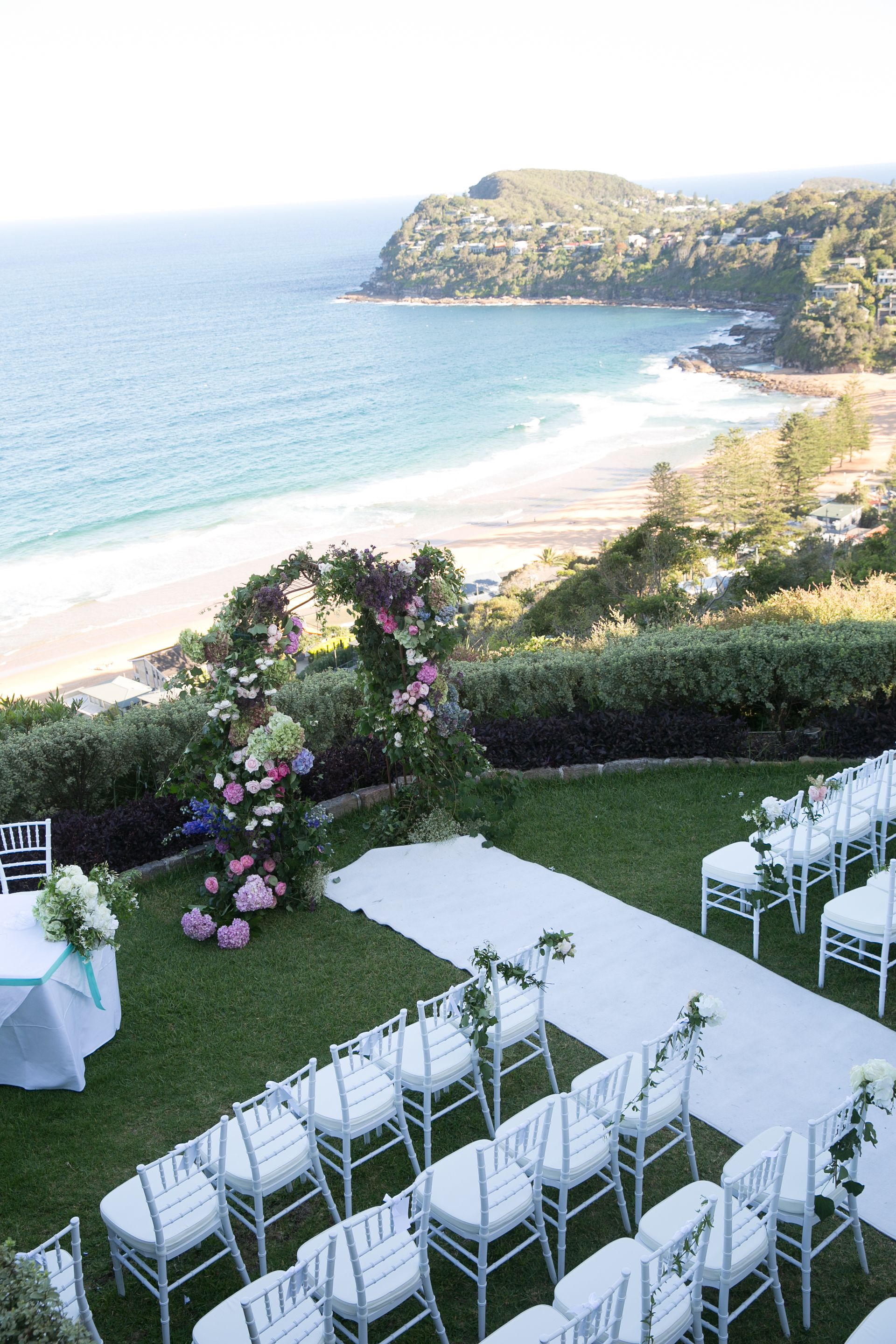 Wedding venues beach nsw board