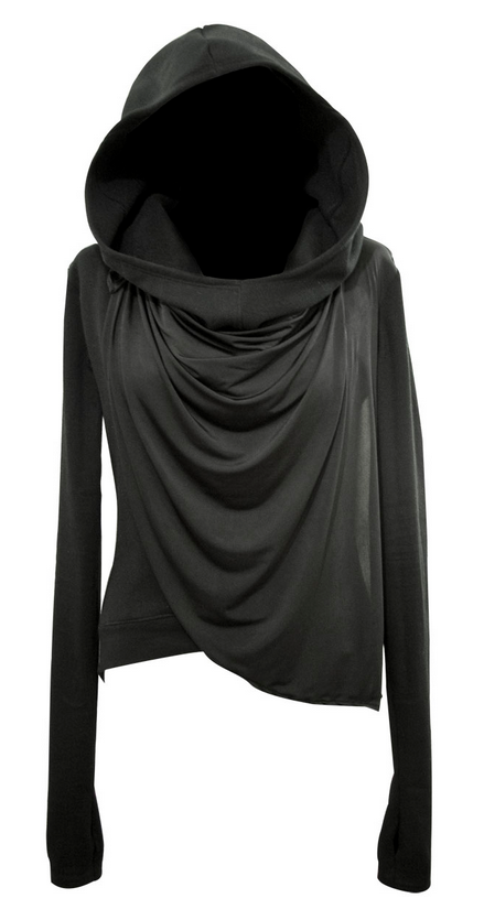 4d4438f9838 black jersey longsleeve shirt with giant hood  3 Goodness! Cabelas had  these and I almost got one but talked myself out of it and I have regretted  it ever ...