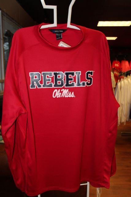 8f19439cb79 Ole Miss Warm-up Baseball Shirt Ole Miss Apparel