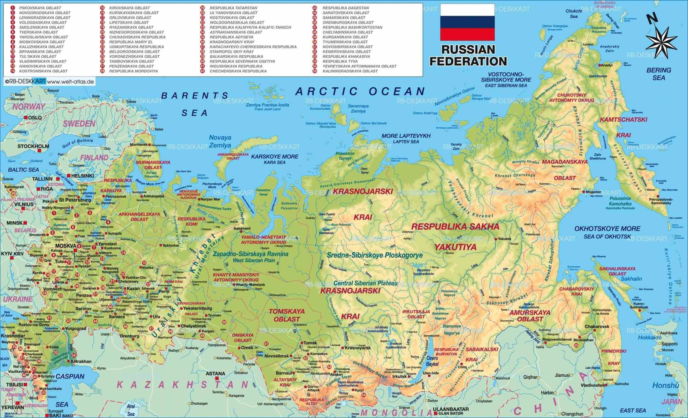 Connects Moscow Cities Urals Siberian Federal Districts With Far